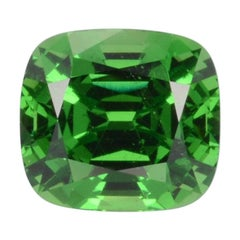 Tsavorite Ring Gem 3.18 Carat