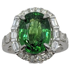 Tsavorite Fashion Ring '18 Karat'