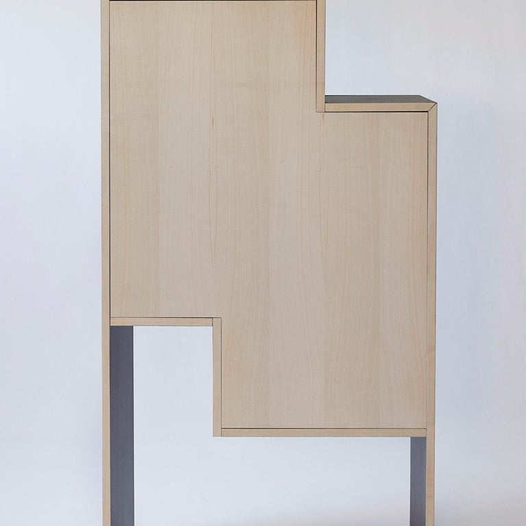 Contemporary Tsukimi Bar Cabinet For Sale