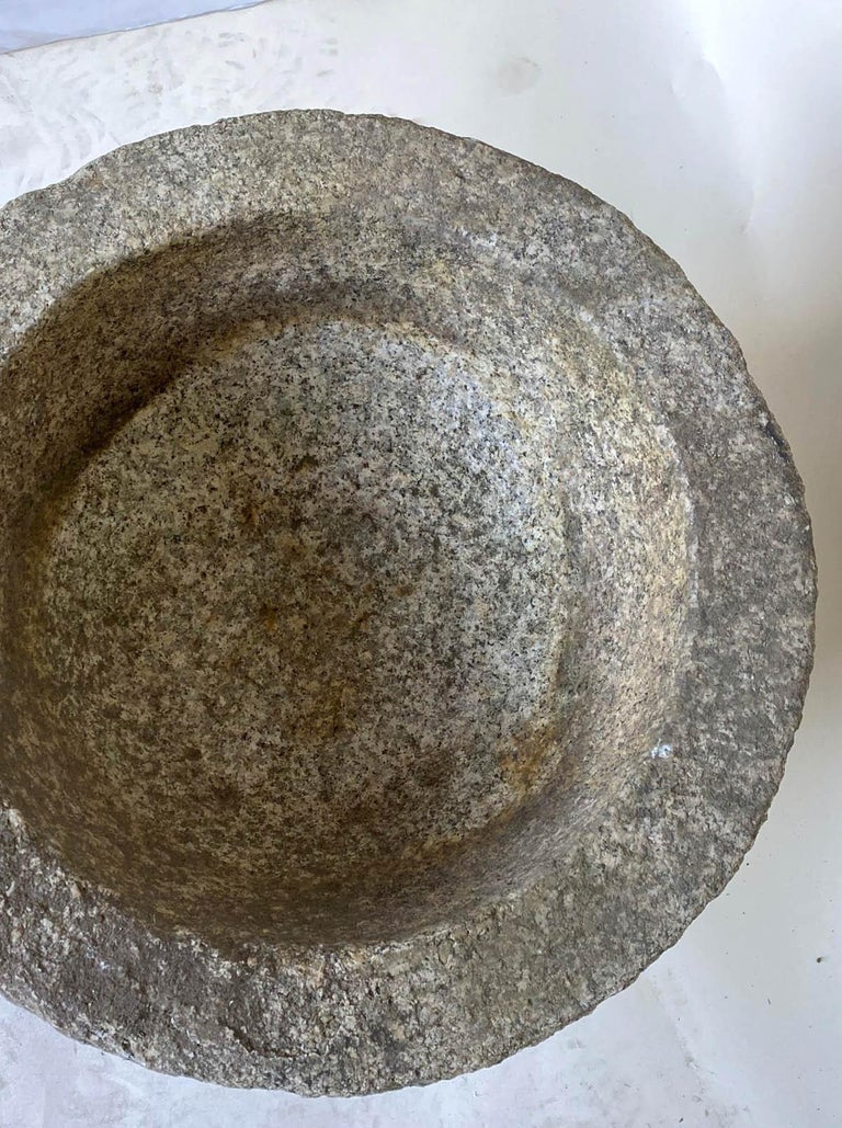 Tsukubai, Japanese Stone Basin In Good Condition For Sale In Los Angeles, CA