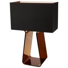 Tubetop 21 Tischlampe in Holzkohle von Pablo Designs