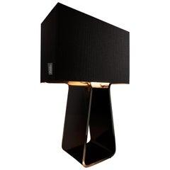 Tubetop 27 Tischlampe in Holzkohle von Pablo Designs