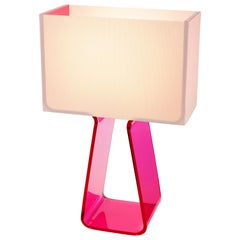 Tubetop Table Lamp in Hot Pink by Pablo Designs