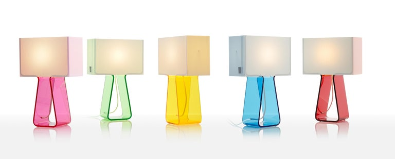 Tubetop Table Lamp in Yellow by Pablo Designs In New Condition For Sale In San Francisco, CA