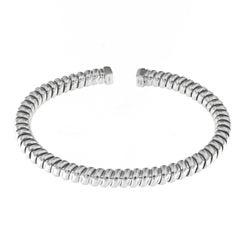 Tubogas 18 Karat White Gold Bracelet