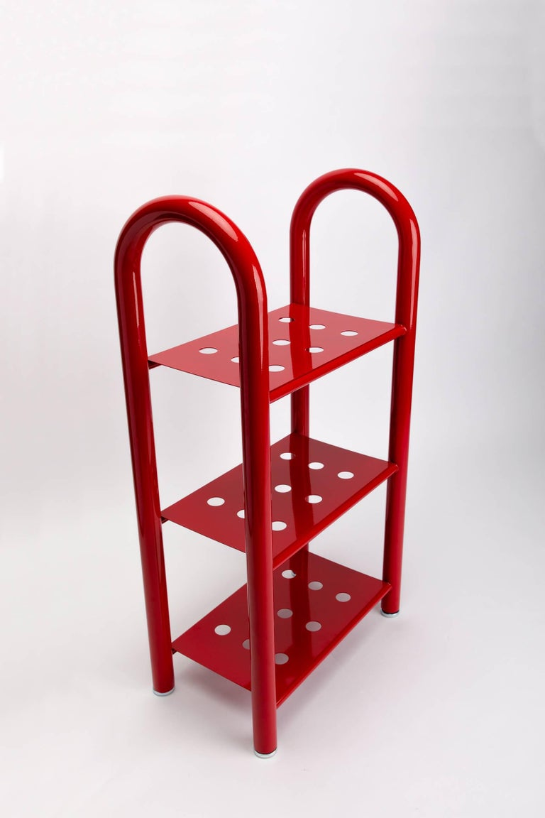 Tubular Bookshelf by Another Human, Small, Modern Sculptural Bookshelf In New Condition For Sale In Los Angeles, CA