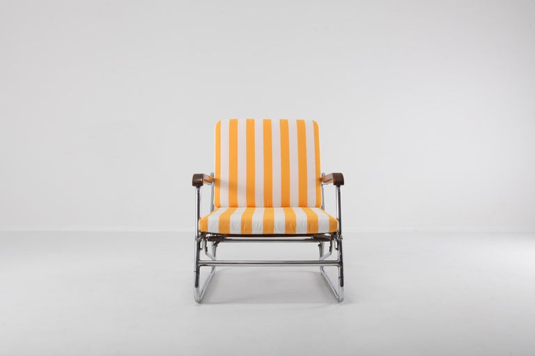 Tubular Chrome Lounge Chair 1950s Italy For Sale At 1stdibs