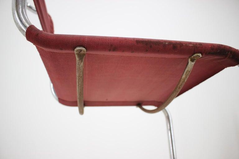 German Tubular Steel Chrome Bauhaus Chair, Mart Stam, 1930 For Sale