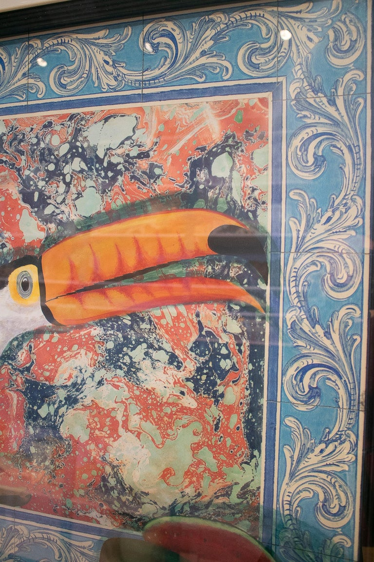 Tucan Painting by Joao de Haro For Sale 1