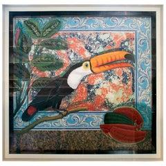 Tucan Painting by Joao de Haro