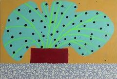 "Tucker Nichols ""BR1716"" - Mixed-media painting"