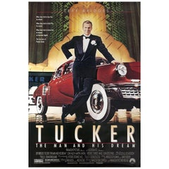 Tucker: The Man and His Dream 1988 U.S. One Sheet Film Poster
