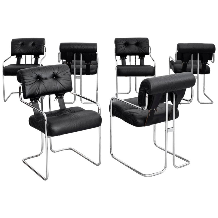 Tucroma Chairs for Pace Collection, Set of 6 For Sale