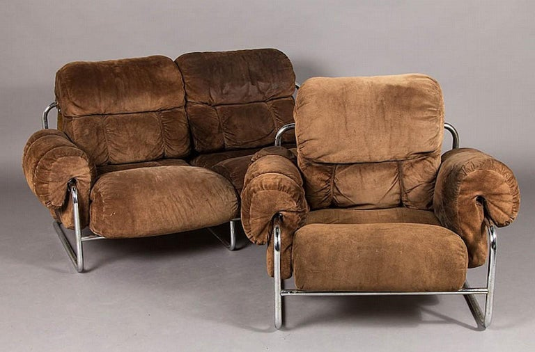 Tucroma Lounge Chair by Guido Faleschini for Pace Collection 9