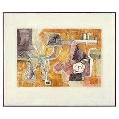 """Tucuri"" Framed Print by Roberto Burle Marx, 1987 - 1stdibs New York"