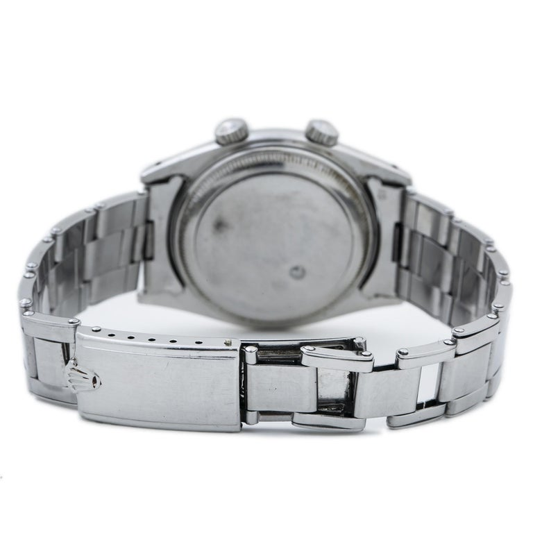 Tudor Advisor Alarm 7926 Men's Manual Wind Stainless Steel 34mm