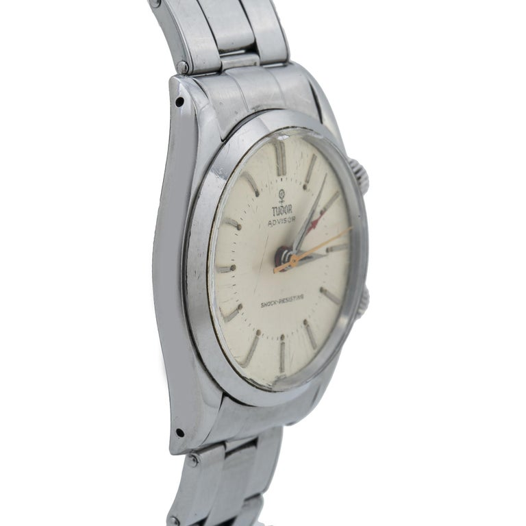 Tudor Advisor Alarm 792620, Off-White Dial, Certified and Warranty For Sale 2