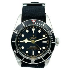 Tudor Black Bay 79230N Stainless Steel Fabric Strap Box Papers 2019