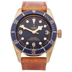 Tudor Black Bay Bucherer Blue Bronze 79250BB Wristwatch