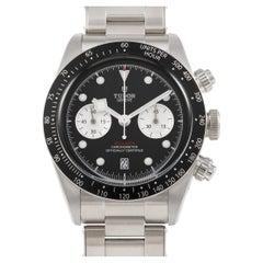 Tudor Black Bay Chronograph Black Dial Watch 79360N-001