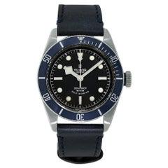 Tudor Black Bay Heritage Stainless Steel Blue Diver Watch 79220B