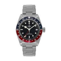 Tudor Black Bay Stainless-Steel GMT Pepsi Bezel Diver Watch 79830RB