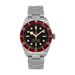 Tudor Black Bay Steel State of Qatar Red Bezel Diver Watch 79230R