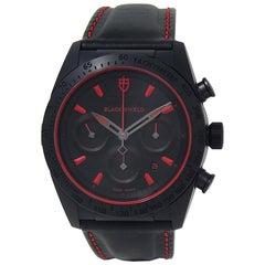 Tudor Black Shield 42000CR, Black Dial, Certified and Warranty