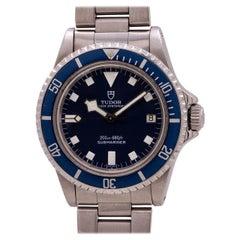 "Tudor Blue ""Snowflake"" Submariner with Date Ref# 94100, circa 1981"