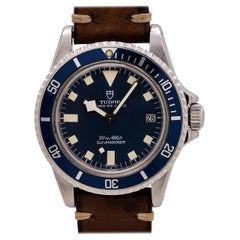 "Tudor Blue ""Snowflake"" Submariner with Date Ref# 94110, circa 1978"