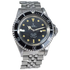 Tudor by Rolex Stainless Steel Oyster Watch from 1967