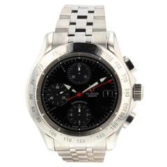 Tudor Chronautic 79380P, Black Dial, Certified and Warranty