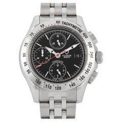 Tudor Chronautic Black Automatic Chronograph Watch 79380
