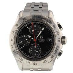 Tudor Chronautic Chronograph Automatic Black Watch 79380P