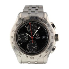 Tudor Chronoautic 79380, Black Dial, Certified and Warranty