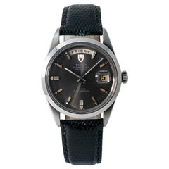 Tudor Date-Day 7017/0, Case, Certified and Warranty