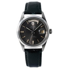 Tudor Date-Day 7017/0, Grey Dial, Certified and Warranty