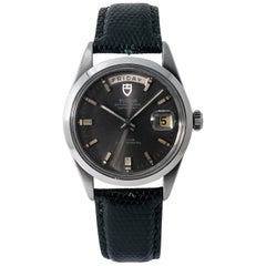 Tudor Date-Day 7017/0, Silver Dial, Certified and Warranty