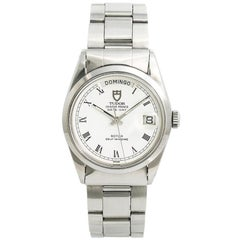 Tudor Date-Day 94500 Men's Automatic Vintage Watch White Spider Dial