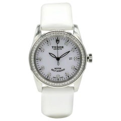 Tudor Glamour 53020, White Dial, Certified and Warranty