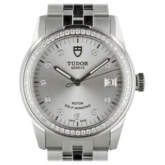 Tudor Glamour 55020, Case, Certified and Warranty