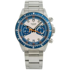 Tudor Heritage 70330, Blue Dial, Certified and Warranty