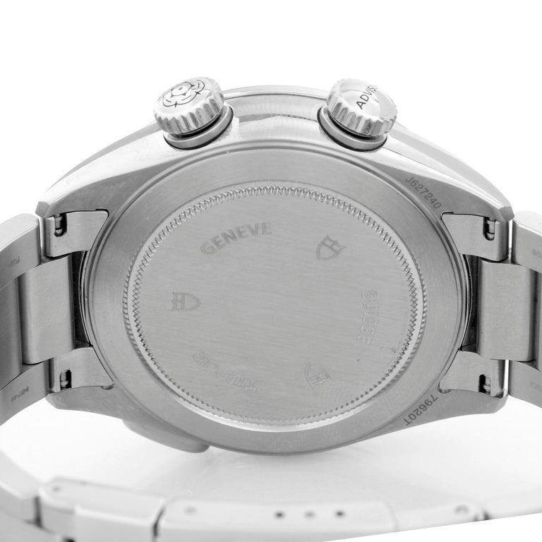 Tudor Heritage Advisor Silver Dial Stainless Steel Men's Watch M79620T For Sale 1