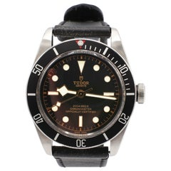 Tudor Heritage Black Bay Automatic Steel Watch Box & Papers