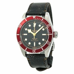 Tudor Heritage Black Bay 79220R Men's Automatic Watch Black Dial SS
