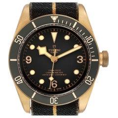 Tudor Heritage Black Bay Bronze Black Dial Men's Watch 79250 Box Card