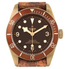 Tudor Heritage Black Bay Bronze Dial Men's Watch 79250 Box Card