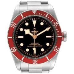 Tudor Heritage Black Bay Burgundy Bezel Men's Watch 79230R Box Papers
