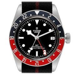 Tudor Heritage Black Bay GMT Pepsi Bezel Men's Watch 79830RB Box Papers