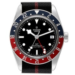 Tudor Heritage Black Bay GMT Pepsi Bezel Men's Watch 79830RB Unworn